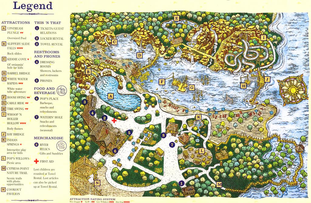 Disney's river country リバーカントリー